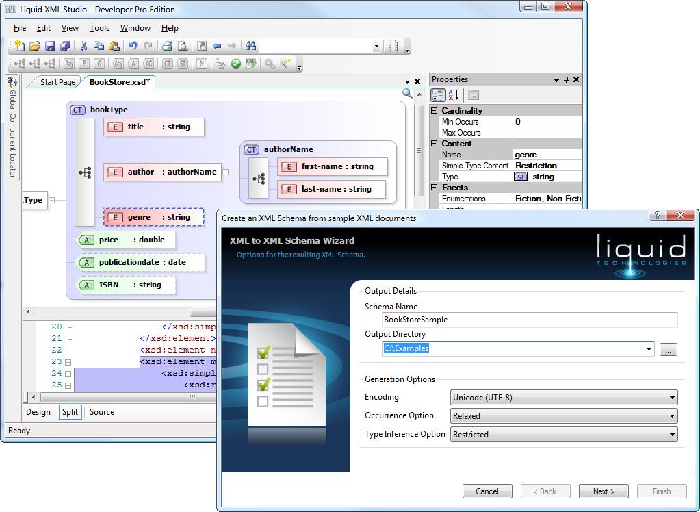 Download Liquid Technologies Liquid XML Studio app